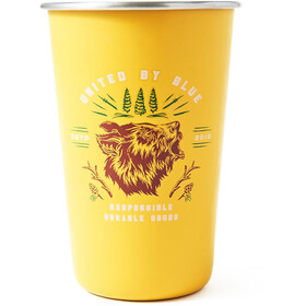 United By Blue Grizzly Stainless Steel Tumbler 0.5 l, gold